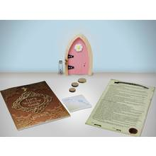 Irish Fairy Arched Door - Pink.