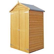 Homewood Wooden  4 x 3ft Overlap Double Door Tool Store