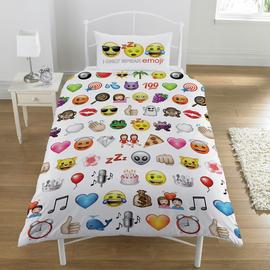 Emoji White Bedding Set