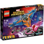 more details on LEGO Marvel Superhero Milano vs Abilisk - 76081.