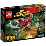 more details on LEGO Marvel Superhero Ravager Attack - 76079.