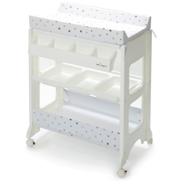 nursery dressers & changing units While we can't make them any less messy, we can make changes that little simpler with our baby changing units. We've got spacious baby changing units with drawers for all of baby's bits and bobs – from nappies and wipes to all their sleepsuits and socks.