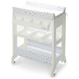 Baby Elegance Bath Changing Unit - Grey Star.