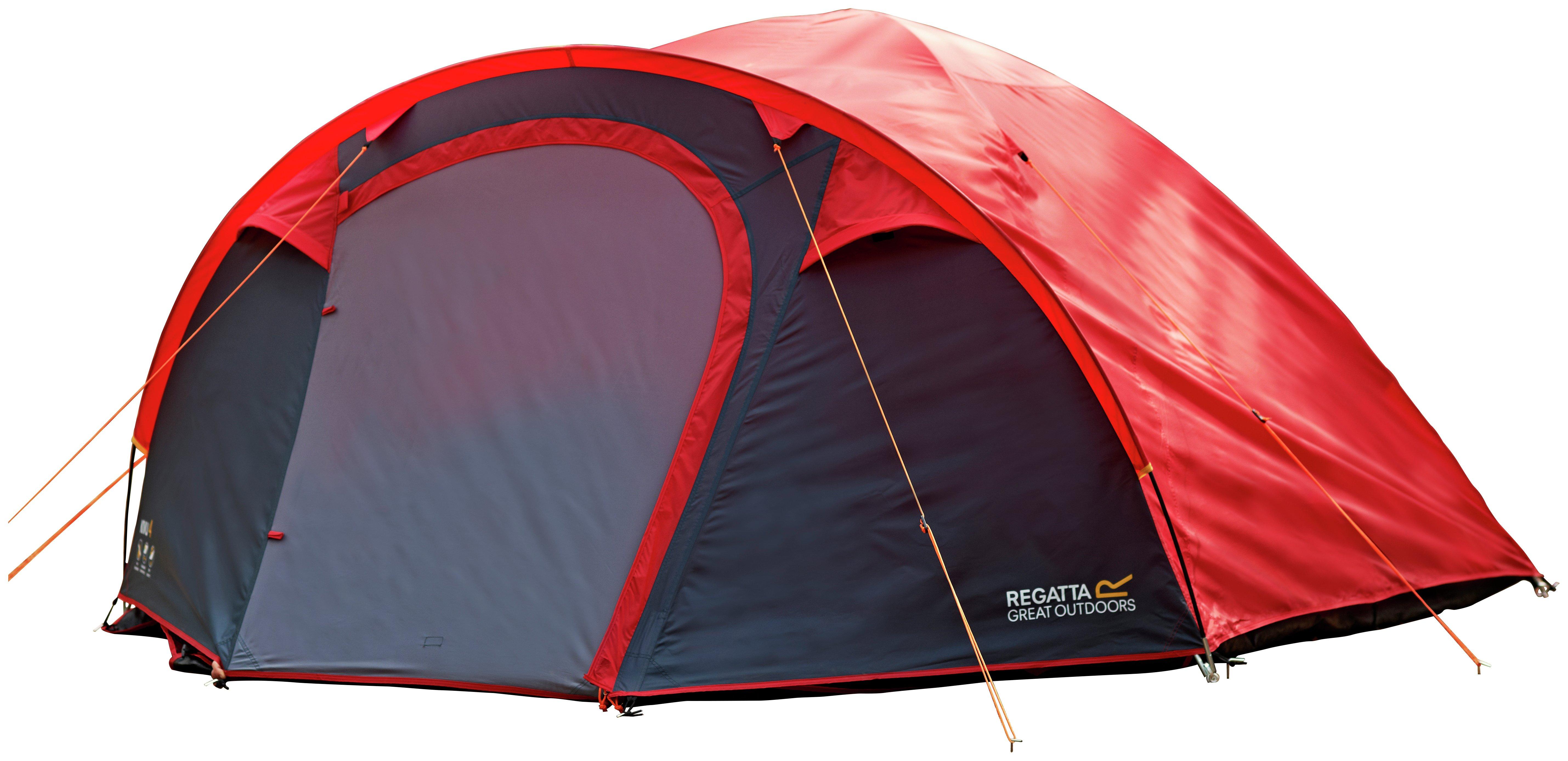 Regatta Kivu 4 Man Dome Tent - Pepper  sc 1 st  Argos & Tents | Argos