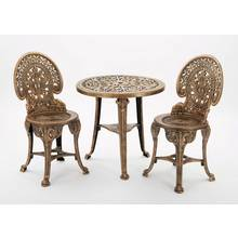 Greenhurst 3 Piece Wenlock Bistro Set - Bronze