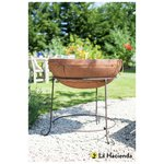 more details on La Hacienda Zanga Large Rustic Fire Pit.