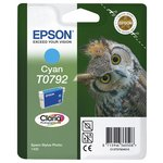 more details on Epson T0792 Owl Standard Ink Cartridge - Cyan.