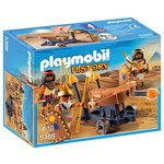 more details on Playmobil Egyptian Troop with Ballista Playset - 5388.