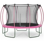 more details on Colours By Plum 12ft Trampoline - Pink/ Turquoise.
