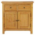 more details on Collection Kingsbury Mini Oak & Oak Veneer Sideboard