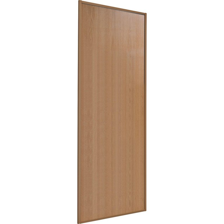 Buy Sliding Wardrobe Door W914mm Oak Panel At Argos Co Uk