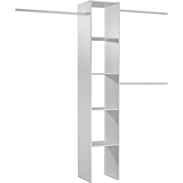 Buy Basix White Interior Storage For Sliding Wardrobe