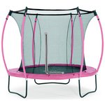 more details on Colours By Plum 8ft Trampoline - Pink/ Turquoise.