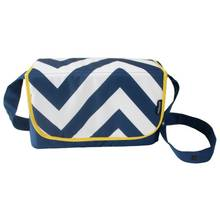 My Babiie Blue Chevron Baby Changing Bag.