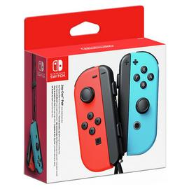 Nintendo Switch Joy-Con Controller Pair Neon Red Neon Blue