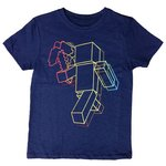 more details on Minecraft Navy T-Shirt - 6-7 Years.