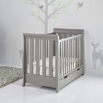 more details on Obaby Stamford Mini Cot Bed - Taupe Grey.