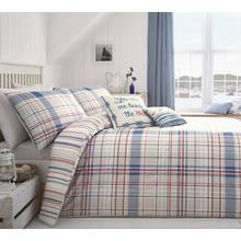 Dreams N Drapes Rathmoore Blue Bedding Set - Kingsize