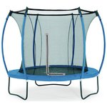 more details on Colours By Plum 8ft Trampoline - Blue/ Lime.