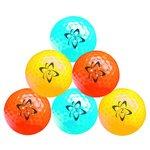 more details on Longridge Pack of 6 Atomic HiVis Neon Golf Balls.
