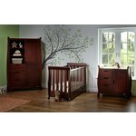 more details on Obaby Stamford Mini 3 Piece Room Set - Walnut.