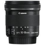 more details on Canon EF-S 10-18mm f/4.5-5.6 IS STM Lens.