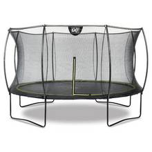 EXIT 12ft Black Edition Trampoline with Enclosure