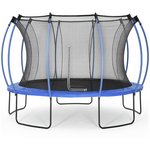more details on Colours By Plum 12ft Trampoline - Blue/ Lime.