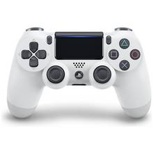 PS4 DualShock 4 V2 Wireless Controller - Glacier White Best Price, Cheapest Prices