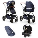 more details on Baby Elegance Cupla Duo Navy Travel System.