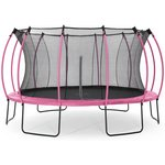 more details on Colours By Plum 14ft Trampoline - Pink / Turquoise.