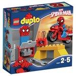 more details on LEGO DUPLO Web Bike Workshop - 10607.