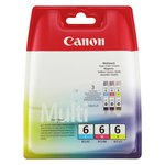 more details on Canon BCI6 Standard Ink Cartridges - Pack of 3.