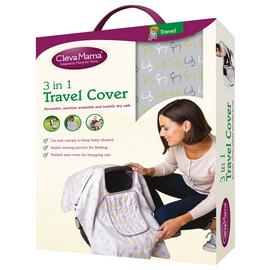 Clevamama 3 in 1 Travel Cover - Lime.