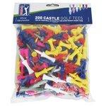 more details on PGA Tour Assorted Castle Tees - Set of 200.