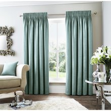 Curtina Rimini Lined Curtains - 229x229cm - Teal