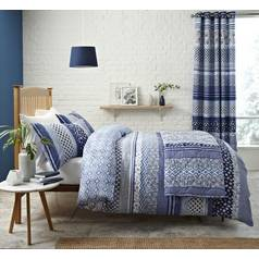 Catherine Lansfield Santorini Bedding Set - Kingsize