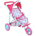 more details on Dollsworld Deluxe 3 Wheel Fold Stroller.