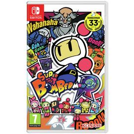 Super Bomberman R Switch Game
