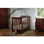 more details on Obaby Stamford Mini Cot Bed - Walnut.