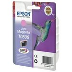 more details on Epson T0806 Hummingbird Standard Ink Cartridge Light Magenta
