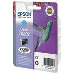 more details on Epson T0802 Hummingbird Standard Ink Cartridge - Cyan.