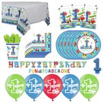 more details on All Aboard Boys 1st Birthday Party Pack.