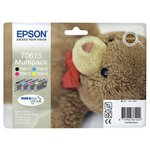 more details on Epson T0615 Teddy Ink Cartridges - Pack of 4.