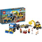 more details on LEGO City Sweeper and Excavator - 60152.