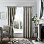 Curtina Ashford Lined Curtains - 168x183cm - Dark Grey