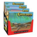 more details on Build Learn Lion Scorpio Rhino Crocodile.