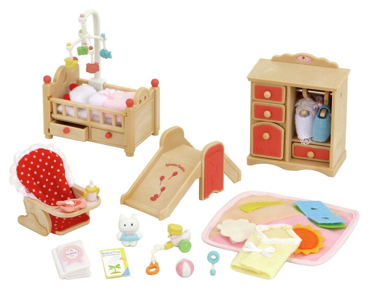 Sylvanian Families Baby Room Set.
