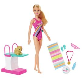 Barbie Sport Swimmer Doll