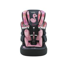Nania Adventure Beline SP Group 1/2/3 Car Seat - Flamingo